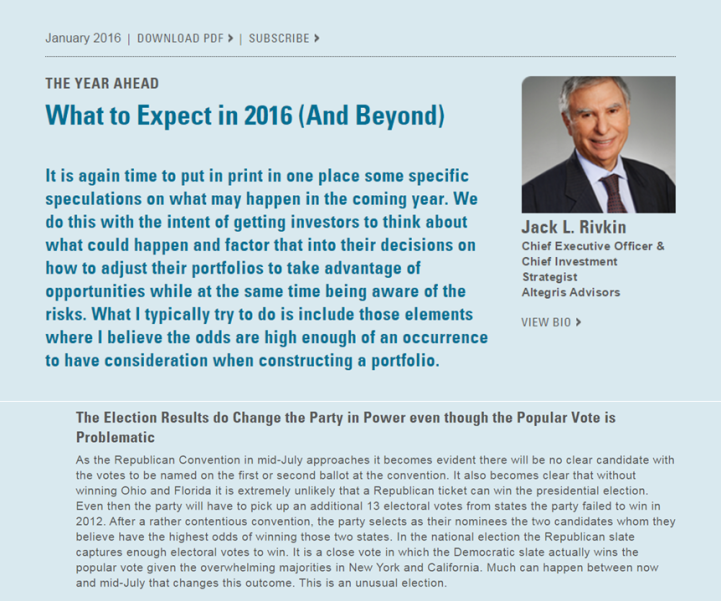 Screenshot of What to Expect in 2016 for 5-5-16 blog